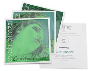 PIRASTRO(ピラストロ) チェロ弦 EvahPirazzi(エヴァピラッツィ) 1~4セット 【送料無料】