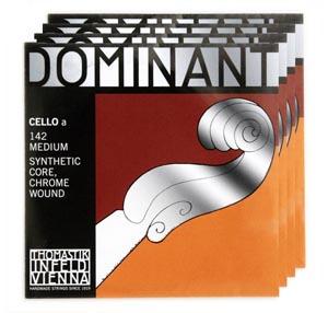 【あす楽対応】【送料無料】 ドミナント(トマスティーク社) チェロ弦 1~4弦 セット