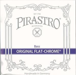 【送料無料】 ピラストロ コントラバス弦 オリジナルフラットクロム 1~4 弦 セット