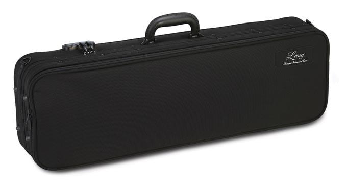 バイオリンケース LANG(ラング) EY-37 ブラック/ダークグレー 【お取り寄せ商品】
