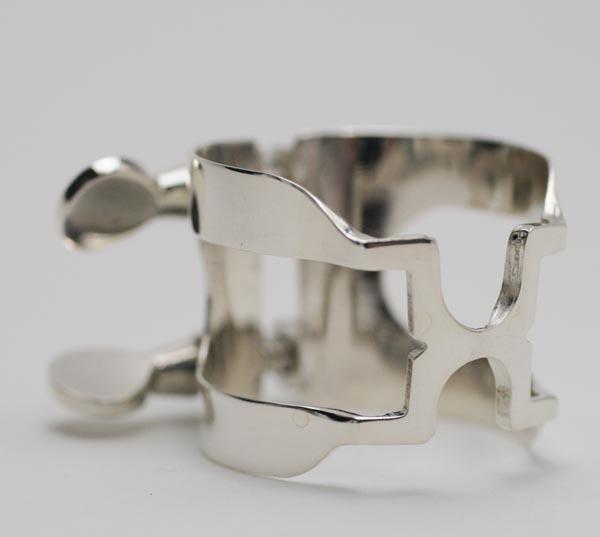 ハリソン リガチャーB♭クラリネット用 スターリングシルバー(総銀製)