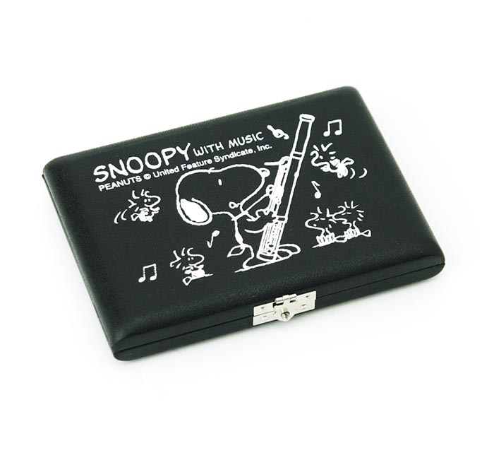 リードケース ファゴット SNOOPY スヌーピー 5本用 SFG-05横引き式止め金具 【カラー:黒/赤】【管楽器専門店】