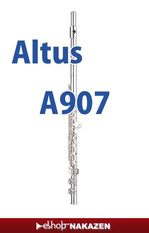 アルタス フルート A907E 頭部管銀 新品・もちろん一年間保証付