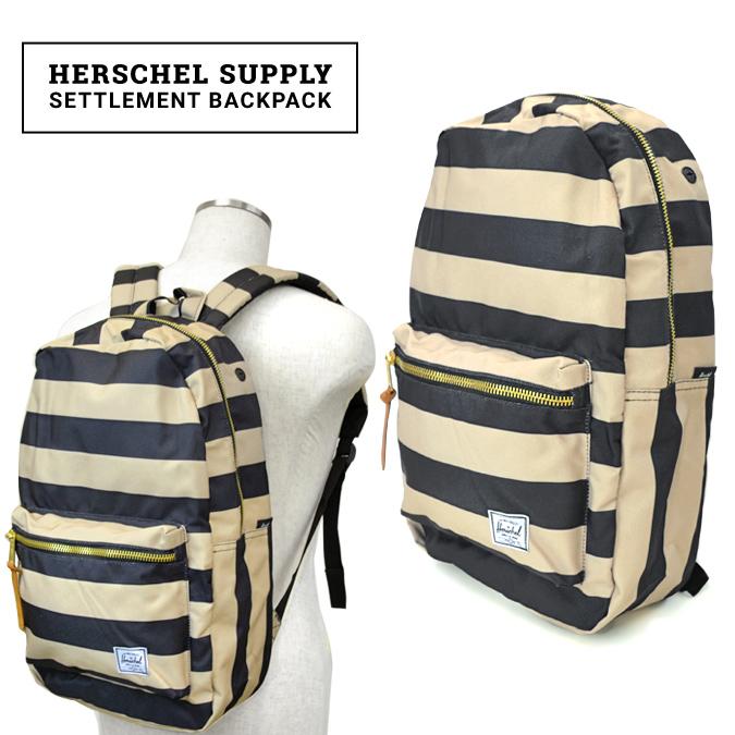 【割引クーポン配布中】 Herschel Supply(ハーシェル サプライ) Settlement BackPack リュック バックパック バッグ FIELD COLLECTION 【あす楽対応】