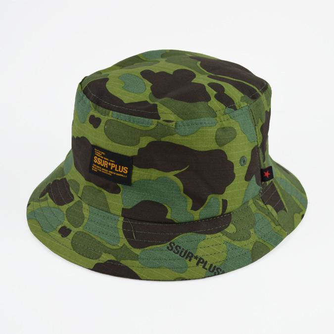 NAKED-STORE  SSUR PLUS   surplus Duck Camo Bucket Hat hats Cap Caps ... d9a6c53bd86