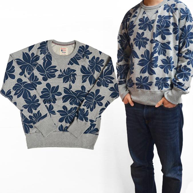 969bc54666a4 TODD SNYDER (Todd Schneider) X CHAMPION (champion) Floral Print Pocket  Sweatshirt crew ...