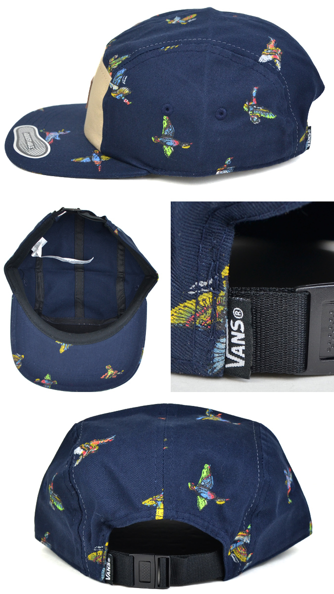 fbb6db13d8 VANS (vans) DAVIS 5-PANEL CAP HAT strap back cap jet cap men gap Dis unisex  hat street skating station wagons