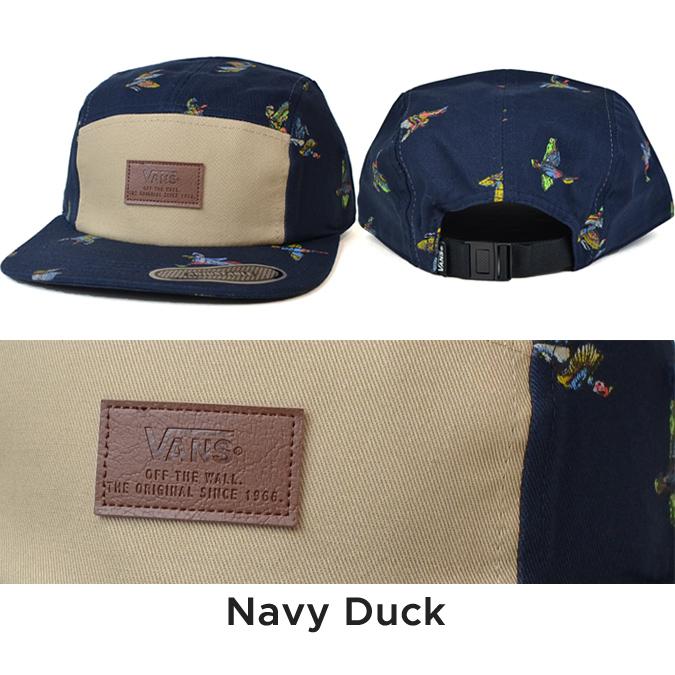 b50e11d9 NAKED-STORE: VANS (vans) DAVIS 5-PANEL CAP HAT strap back cap jet ...