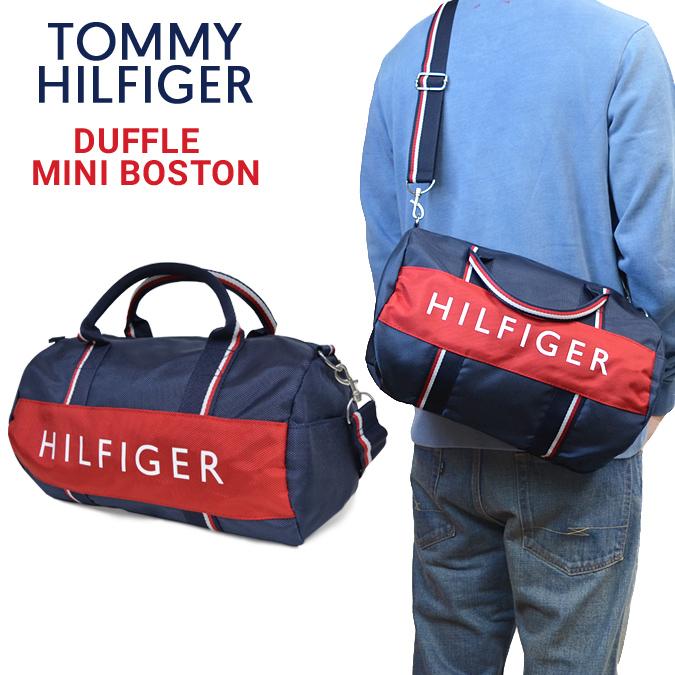 verkkokauppa tehdasmyymälät ensiluokkainen TOMMY HILFIGER (トミーヒルフィガー) MINI DUFFLE BAG mini-duffel bag Boston bag  shoulder bag bag bag men gap Dis unisex
