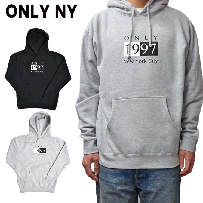 【割引クーポン配布中】 ONLY NY (オンリーニューヨーク) DECO HOODY プルオーバー パーカー スウェット フリース メンズ ストリート スケート 【あす楽対応】