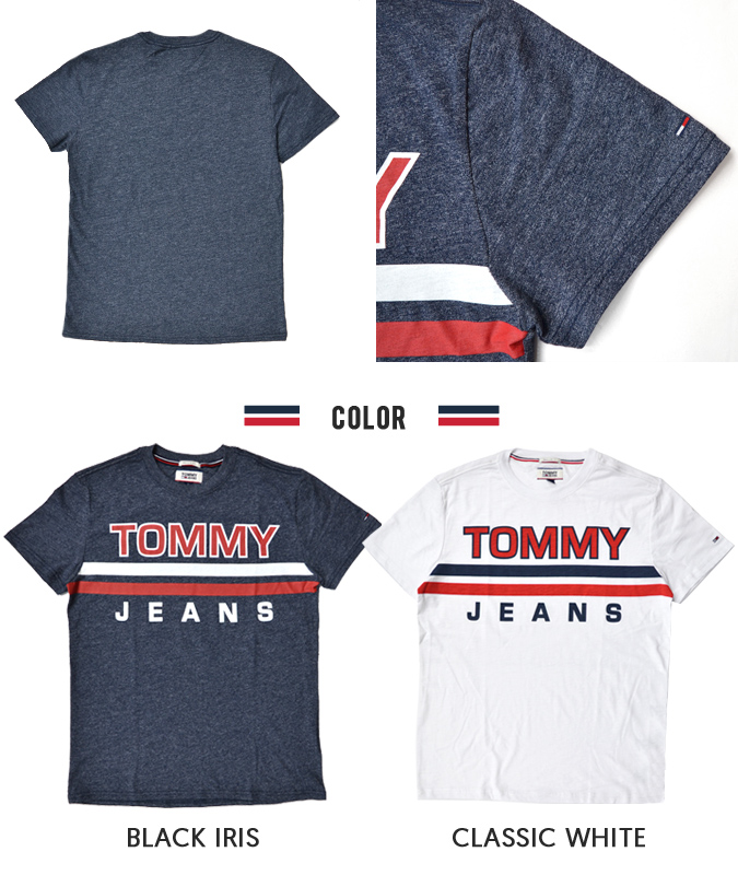 2a7d1d04 ... TOMMY JEANS (Tommy jeans) STRIPE TEE T-shirt short sleeves men crew neck