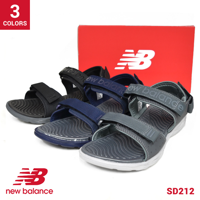7f90a685b53 NEW BALANCE (New Balance) SD212 sandals SANDAL sports sandals men American casual  shoes shoes
