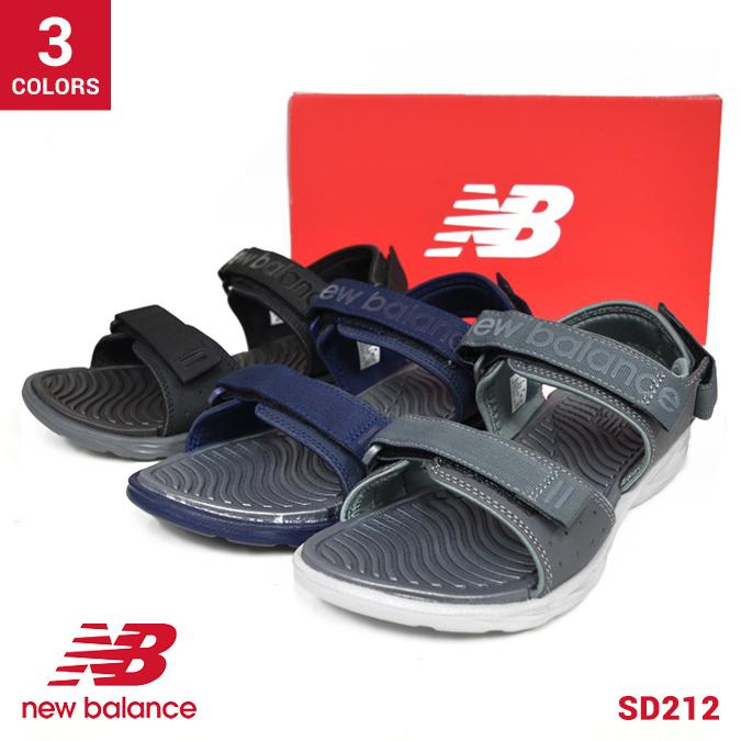 ニューバランス SD750BK 18SS BLACK (D) 【NEW BALANCE】 (BK)