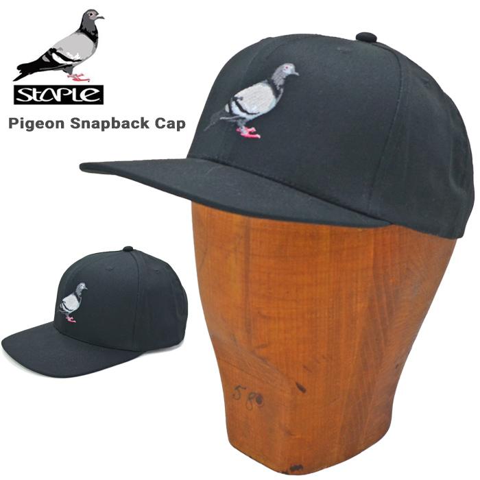 日本正規代理店商品 送料無料 男性用 女性用 男女兼用 メンズ レディース ユニセックス ストリート系 スケート ロゴキャップ 割引クーポン配布中 帽子 PIGEON 販売期間 限定のお得なタイムセール 6パネルキャップ あす楽対応 ステイプル 2104X6587 キャップ CAP SNAPBACK STAPLE スナップバックキャップ 激安通販ショッピング