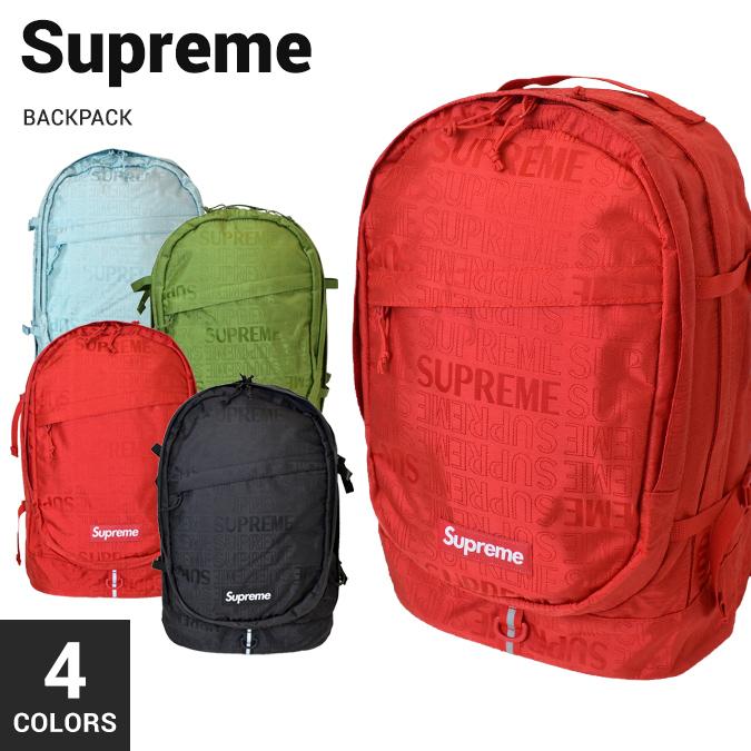 【割引クーポン配布中】 Supreme (シュプリーム) BACKPACK バックパック リュック メンズ レディース ユニセックス ストリート スケート BAG バッグ 鞄 【あす楽対応】