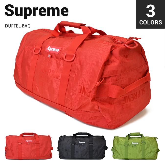 【割引クーポン配布中】 Supreme (シュプリーム) DUFFEL BAG ダッフルバッグ ボストンバッグ ショルダー メンズ レディース ユニセックス ストリート スケート BAG バッグ 鞄 【あす楽対応】