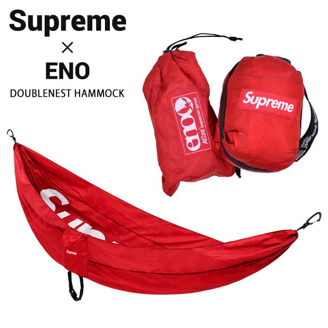 【割引クーポン配布中】 Supreme (シュプリーム) ENO DOUBLENEST HAMMOCK ハンモック アウトドア キャンプ ストリート スケート SUPREME