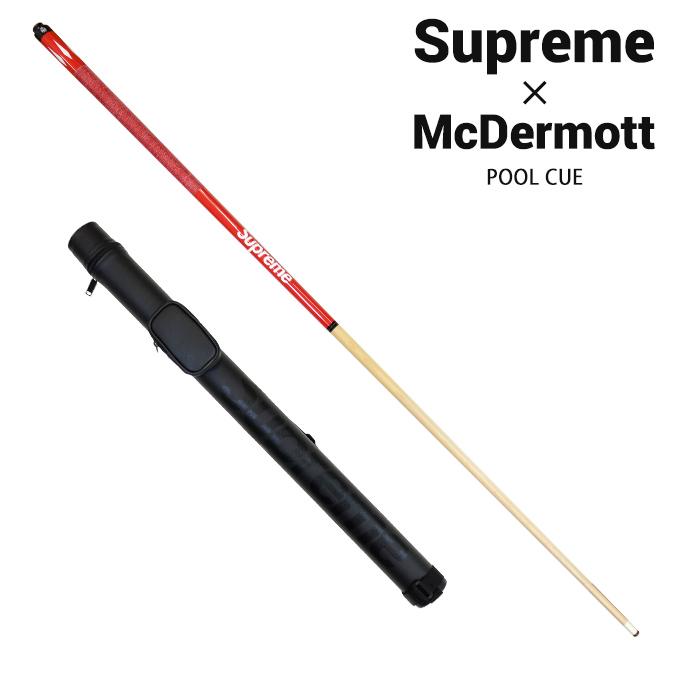 【割引クーポン配布中】 Supreme (シュプリーム) McDermott POOL CUE マクダーモット プールキュー ビリヤード メンズ レディース ストリート スケート SUPREME 【あす楽対応】