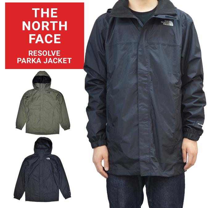 【割引クーポン配布中】 THE NORTH FACE (ノースフェイス) ジャケット RESOLVE PARKA JACKET マウンテンパーカー ナイロンジャケット メンズ アウター S-XL 【あす楽対応】