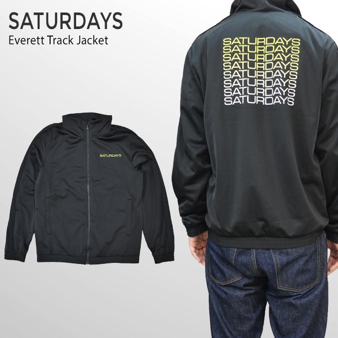 【割引クーポン配布中】 SATURDAYS NYC (サタデーズ ニューヨークシティ) ジャケット Everett Track Jacket トラックジャケット ジャージ アウター ブルゾン メンズ サタデーズサーフ 【あす楽対応】