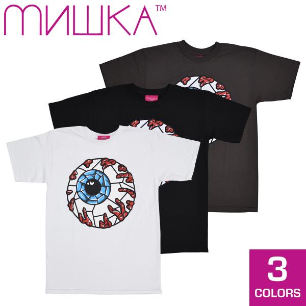 MISHKA Mishka STAINED GLASS KEEP WATCH S/STEE mens T shirt short sleeve