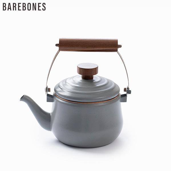 キャンプでのコーヒーや紅茶 ホットチョコレートなどのお湯を素早く沸かすのに最適なティーポット 現品 お得クーポン発行中 BAREBONES LIVINGベアボーンズ エナメルティーポットEnamel おしゃれカフェ道具 TeaPot 819665013795 キャンプアウトドアグッズ