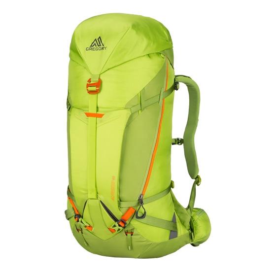 GREGORY グレゴリー アルピニスト50L ライケングリーン緑 M 1B31 登山縦走用 冬用 テクニカル アルパインザック