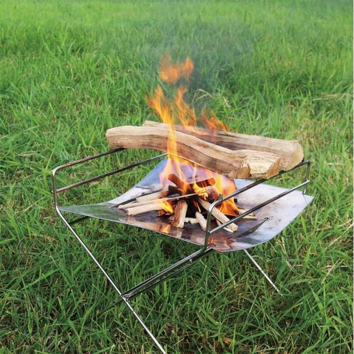 立ち姿が美しい焚火台 大特価 地面を焦がさない安心感 抜群の扱いやすさ Hang Outハングアウト Flame FP-350キャンプ フレイム 1着でも送料無料 ピット アウトドア 焚き火台軽量コンパクト Pit