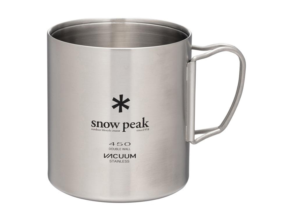 超軽量なステンレス製の真空マグ Snowpeak スノーピーク 2020春夏新作 ステンレス真空マグ 携帯 450 アウトドア おすすめ キャンプ