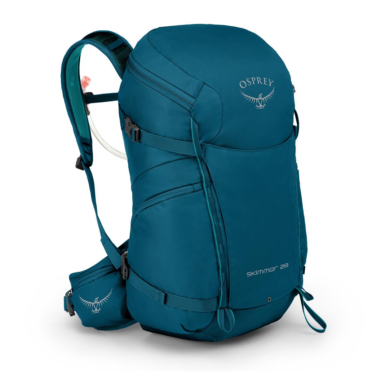 オスプレーのシンプル 軽量な女性用ハイキングパック OSPREYオスプレー スキマー28 28リットルサファイアブルーバッグ リュック テクニカルパック バッグパック 再入荷 予約販売 旅行トラベルグッズ 高級品
