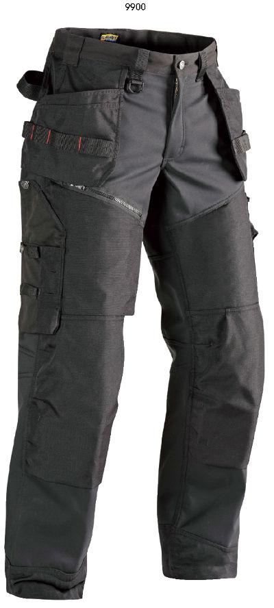 8214-2517 CRAFTSMAN TROUSERS X1500 SOFTSHELL(BLAKLADER・ブラックラダー)作業服・作業着 72~112 ポリエステル100%