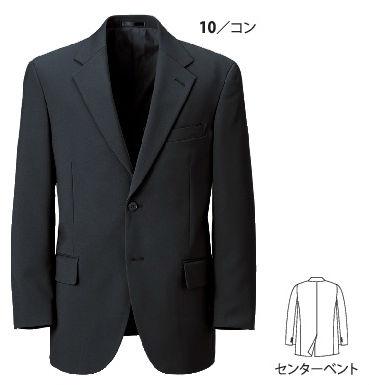 16010 ビジネスジャケット XEBEC ジーベック スーツ 紳士用【代理店特価】 A3~O8 ポリエステル100%