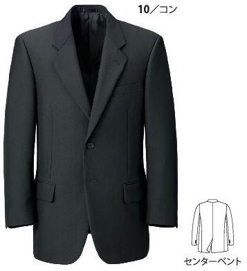 16011 エコTWジャケット XEBEC ジーベック スーツ 紳士用【代理店特価・リニューアルサイズ】 A3~B8 ポリエステル80%(再生ポリエステル75%)・ウール20%