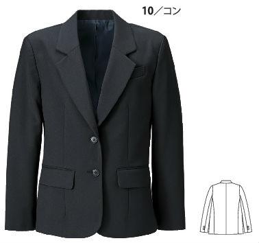 16018 レディスジャケット XEBEC ジーベック スーツ 【代理店特価】 7AR~19AR ポリエステル100%