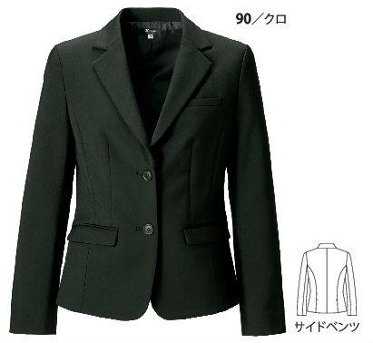 40010 レディスジャケット XEBEC ジーベック スーツ 【代理店特価】 5号~19号 ポリエステル100%