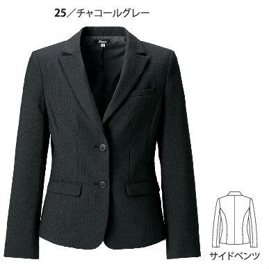 40020 レディスジャケット XEBEC ジーベック スーツ 5号~19号 ポリエステル97%・ナイロン3%