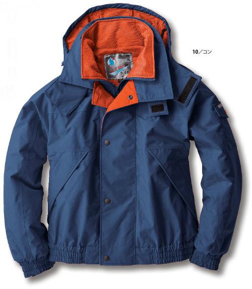 532 防水防寒ブルゾン XEBEC ジーベック 防水 防寒 秋冬作業服 作業着 M L LL 3L 4L 5L ナイロン100%
