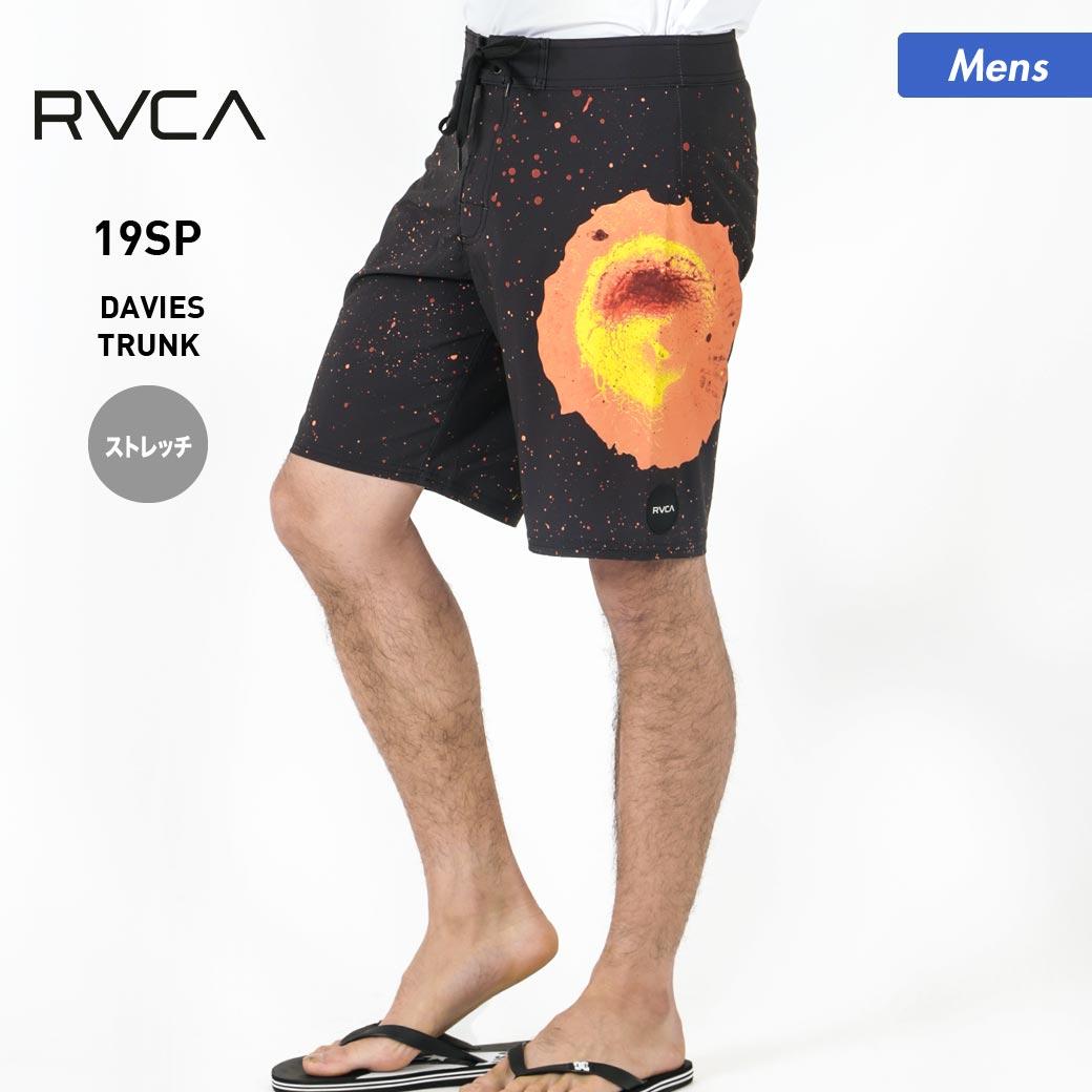 全品5%OFF券配布中 【アウトレット】 RVCA/ルーカ メンズ サーフパンツ AJ041-513 ボードショーツ 水着 海水パンツ サーフショーツ みずぎ ひざ丈 ボーダー柄 ビーチ 海水浴 プール 男性用