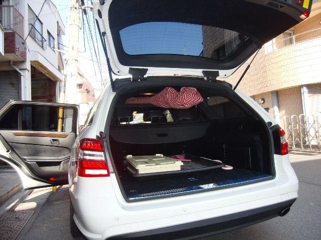 メルセデスベンツ E250ステーションワゴン 2013/01以降発売用 車内キャリア