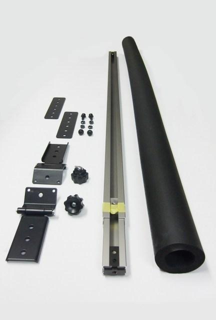 CAPキット 200系ハイエースSGL 3本目追加用 バー ターンボルト付き 車内 キャリア