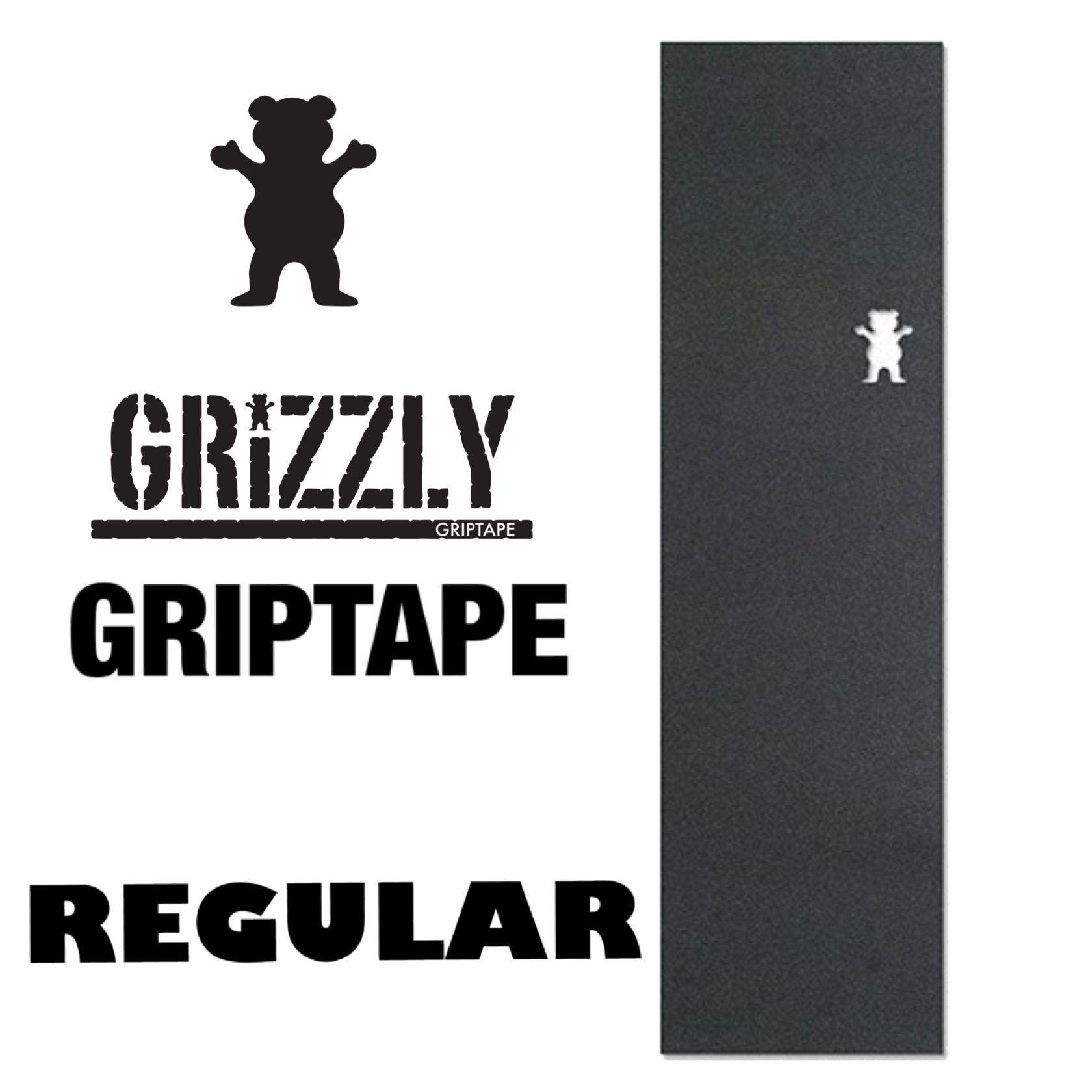 国内正規代理店 BlaZe ブレイズ GRIZZLY BEAR CUTOUT GRIPTAPE REGULAR 店内限界値引き中 セルフラッピング無料 グリズリー レギュラー おしゃれ スケートボード用滑り止め デッキテープ ストリート グリップテープ スケボー 売店 ベアカットアウト かっこいい