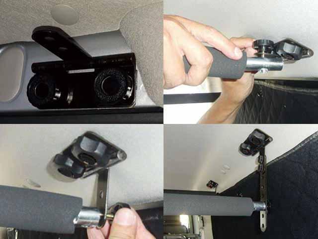 NV350キャラバンDX車内キャリア