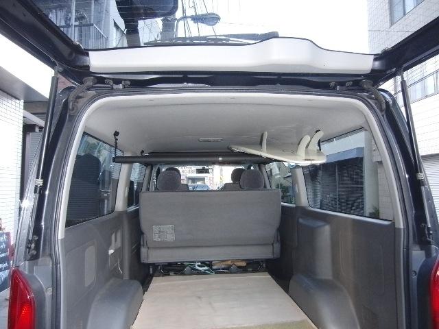 200系ハイエーススーパーGL ガタツキ音改良版 車内キャリアボードラック