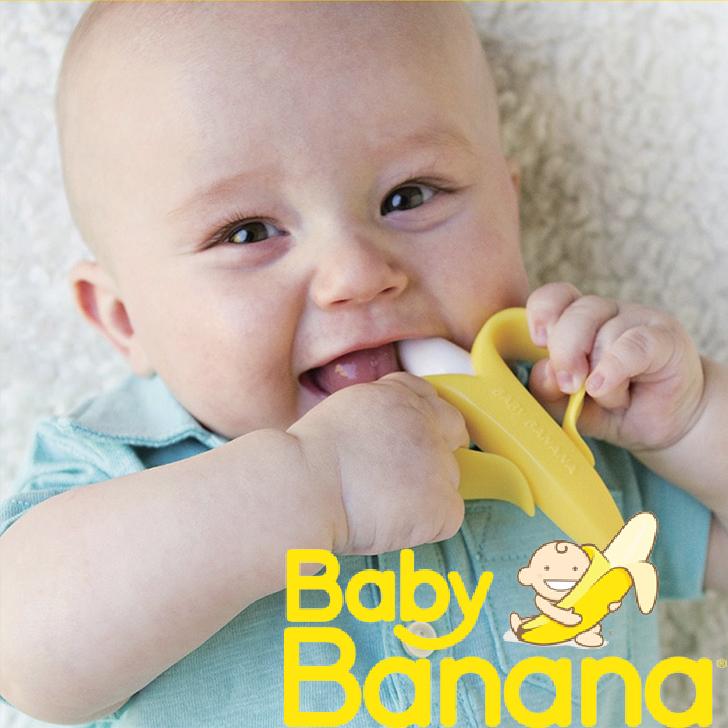 歯科衛生士が開発した乳幼児用トレーニング歯ブラシ ハミガキ習慣を自然と楽しく育めます 歯固め 歯がため かわいい ベビーバナナ BABYBANANA かみかみバナナ 乳児用歯ブラシ ラトル ベビー歯ブラシ トレーニング歯ブラシ 歯磨き ハミガキ グッズ 女の子 ベビー セットアップ インスタ映え プレゼント おもちゃ ギフト シリコン 出産祝い 新生活 0歳 赤ちゃん 生後3ヶ月 3ヶ月 男の子