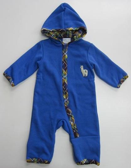 【hakka baby】[ハッカベビー]裏フリースカバーオール (70cm) (男の子) (秋冬物) (あったか) (防寒)【hakka kids】[ハッカキッズ] (00931243)