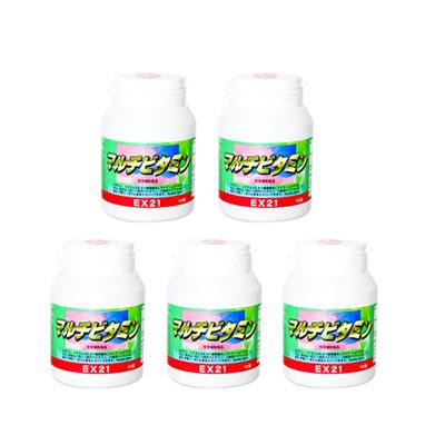 EX21シリーズ マルチビタミン 5個【ビタミン】【ミネラル】【送料無料】[p10]】