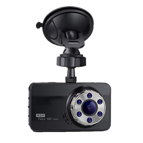 ドライブレコーダー 1080P Full HD 200万高画質 170°広視野角 動体検知 衝撃録画 常時録画 暗視機能 3.0 インチ tecc-zekkeidr[送料無料・一部地域除く]