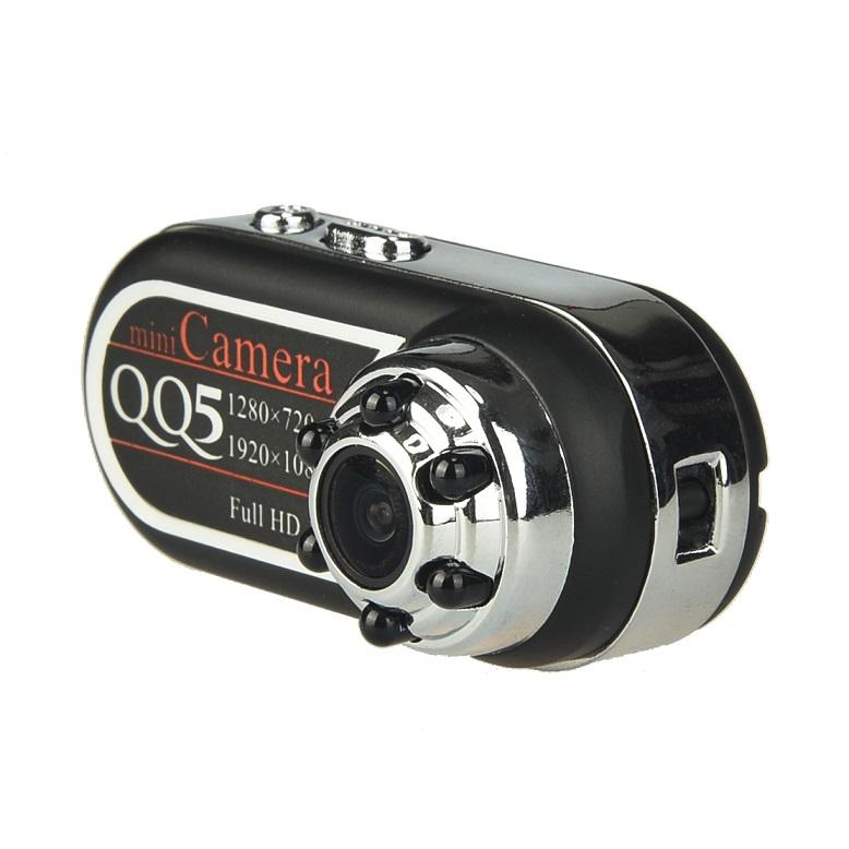 【送料無料】操作簡単 暗視対応 動体検知機能搭載 1080P録画対応 小型ビデオカメラ ミニカメラ ORG-QQ5