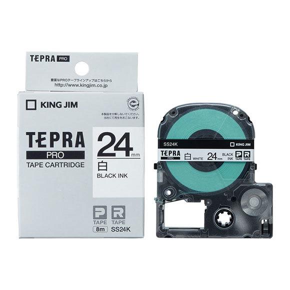 定価の67%OFF キングジム 再入荷/予約販売! テプラテープ 24mm幅