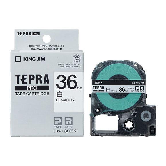 キングジム テプラテープ 36mm幅 買い物 当店は最高な サービスを提供します